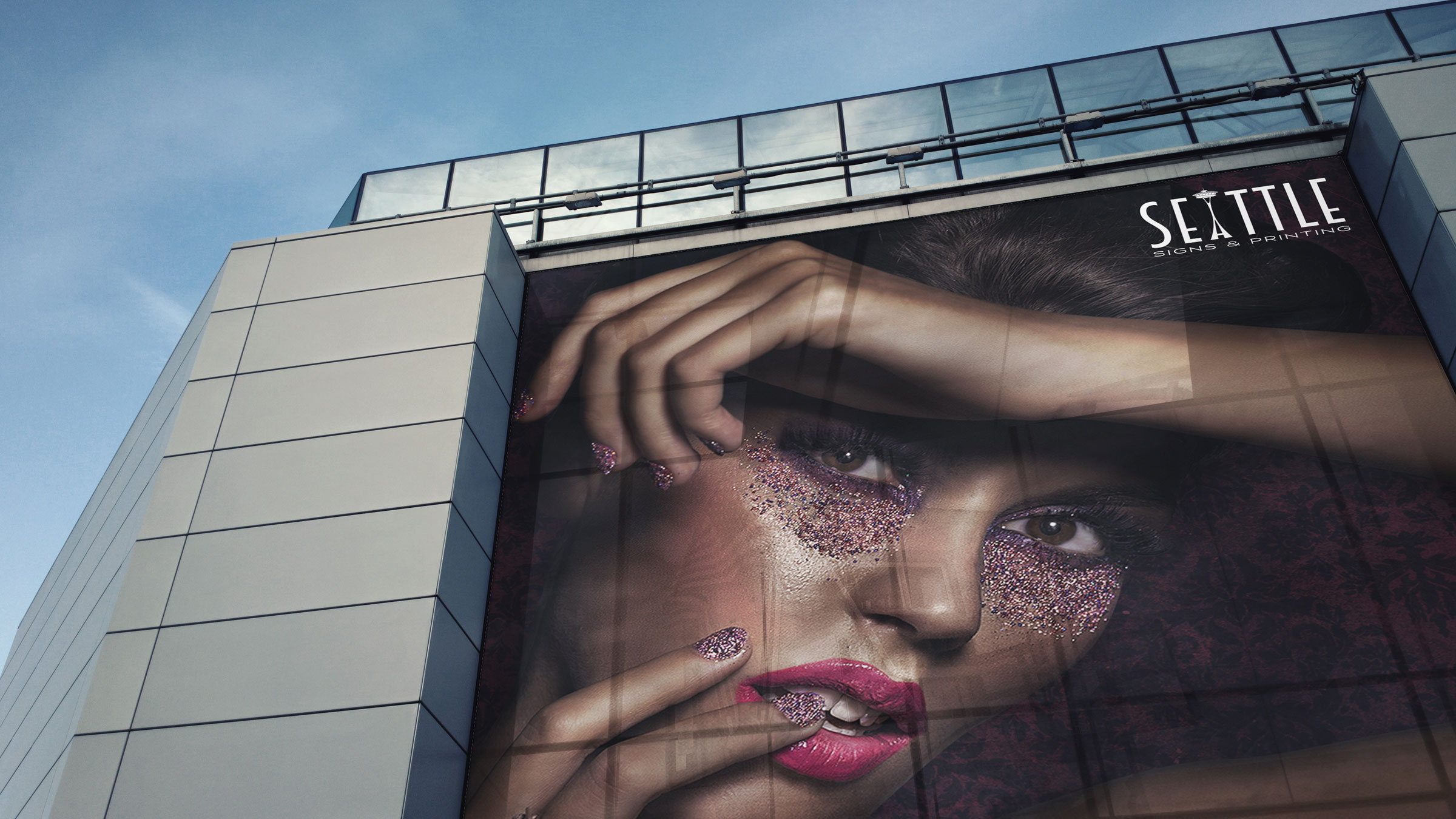 Modern Building Wrap Marketing By 3M
