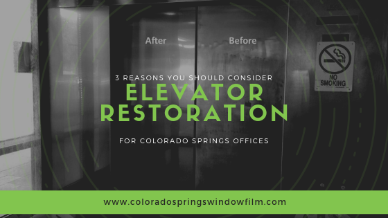 3 Reasons You Should Consider Elevator Restoration for Colorado Springs Offices